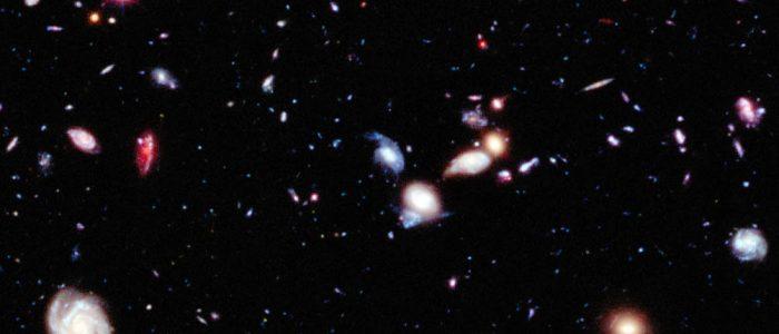 Muinaisia galakseja