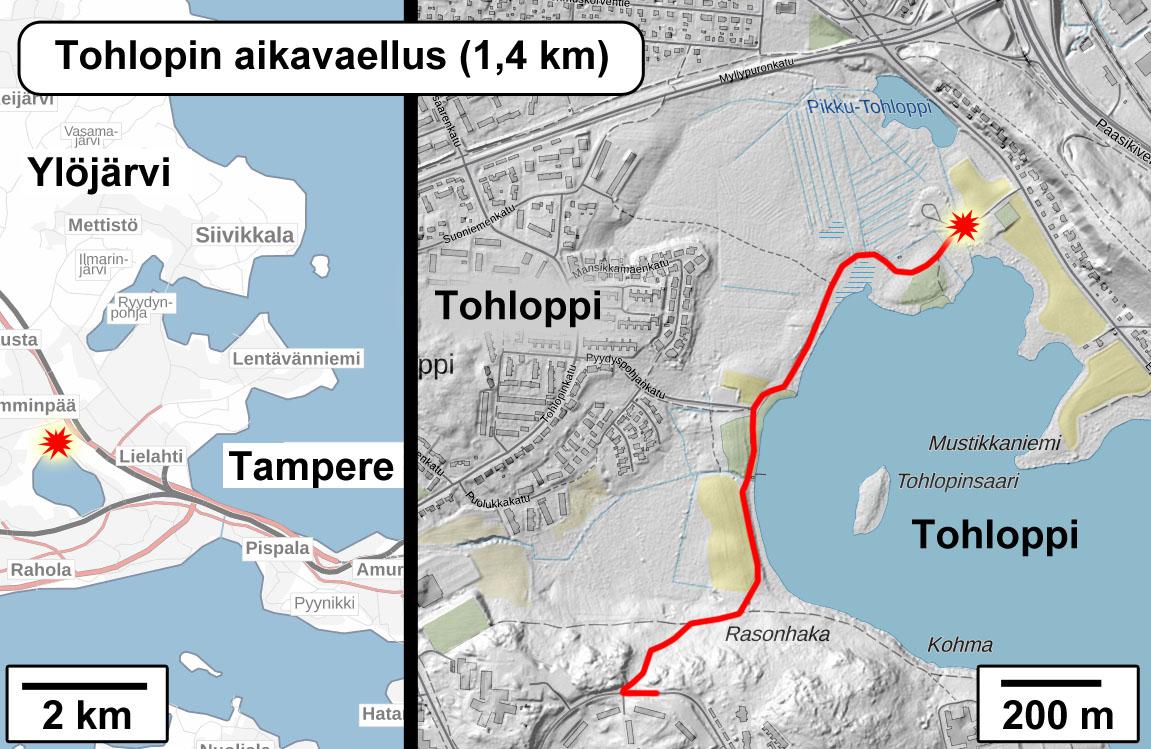 Tohloppi Lake Time Trek Timetrek