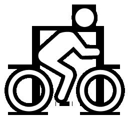 Pyöräiltävissä